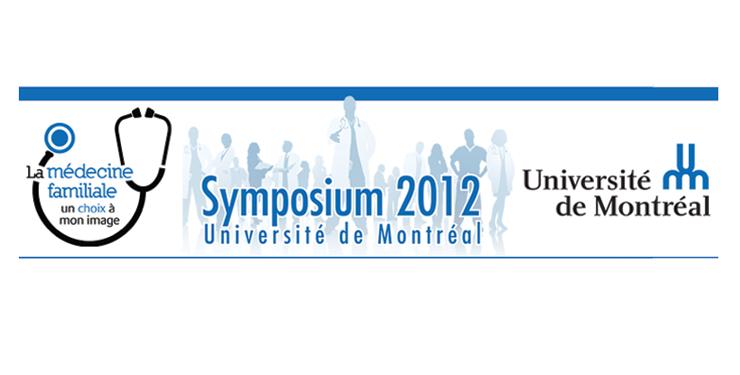 Symposium étudiant en médecine familiale 2012