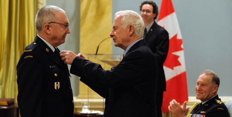 Marc Dauphin, major et médecin