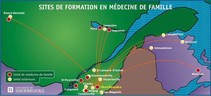 Foire aux programmes de résidence en médecine de famille de l'Université de Sherbrooke à Longueuil